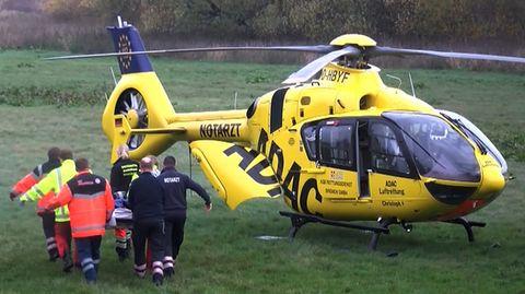 Rettungshubschrauber im Einsatz: Ohne Versicherung kann es teuer werden.