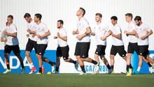 Die deutsche Nationalmannschaft trainiert in Sotschi für das Confed-Cup-Halbfinale