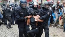Friedel 54 - Räumung - Polizei Berlin - 1