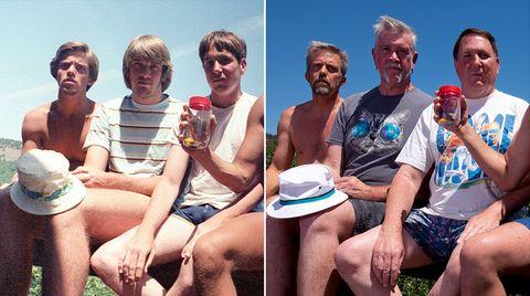 Bilder seit 35 Jahren: Fünf Freunde aus Kalifornien und ihre wunderschöne Fotoserien-Idee