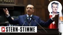 Erdogan kommt nach Hamburg