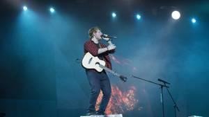 Ed Sheeran performte zuletzt auf dem Glastonbury Festival