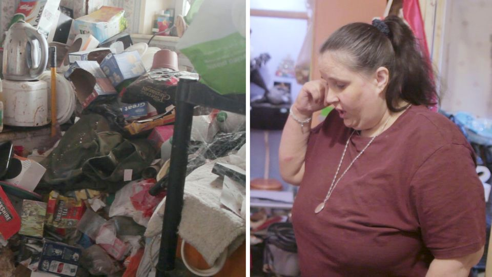 Messie Wohnung Leben Müll