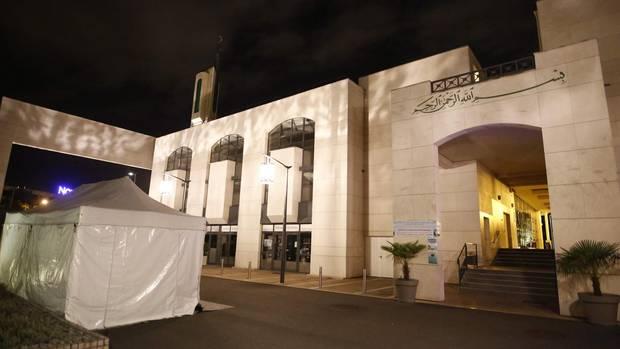 Die Moschee im Pariser Vorort Creteil
