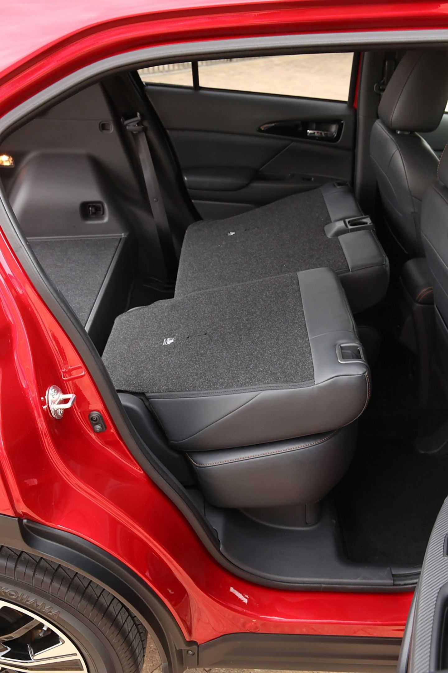 Mitsubishi Eclipse Cross 1.5 Turbo - die Rückbank lässt sich um 20 cm verschieben