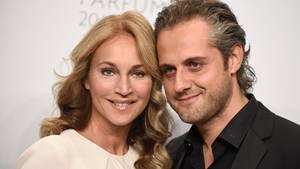 TV-Moderatorin Caroline Beil mit ihrem Lebensgefährten Philipp Sattler