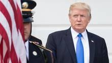 US-Präsident Donald Trump in Washington. Sein Einreiseverbot trat am Donnerstag in Kraft, nun wehrt sich Hawaii juristisch.