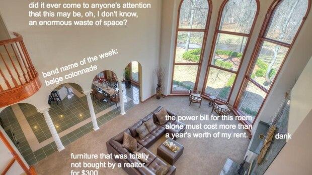 """""""Die Heizungsrechnung für diesen Raum kostet mehr als meine Jahresmiete"""" und """"Die Einrichtung wurde vom Makler bestimmt nicht für 300 Dollar zusammengekauft."""""""