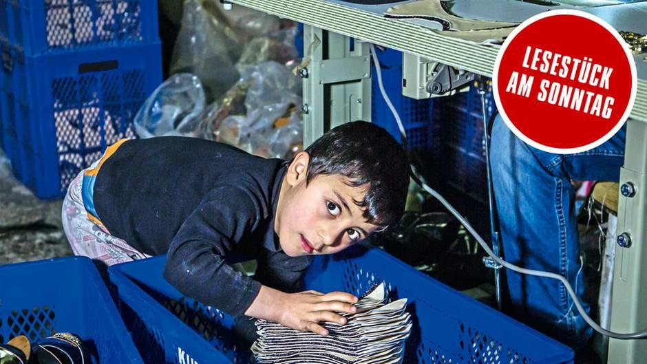 Kinderarbeit: Syrische Kinder produzieren Schuhe in der Türkei