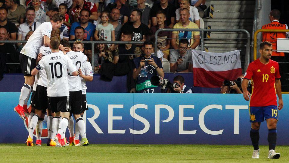 U21 Deutschland Spanien