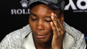 Venus Williams auf einem Foto von Januar: Sie sei nach dem Unfall untröstlich, schreibt sie auf Facebook