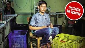 Nuri, 14, arbeitet schon seit vier Jahren. Er hat sich daran gewöhnt. So sehr, dass er sich selbst nicht mehr für ein Kind hält
