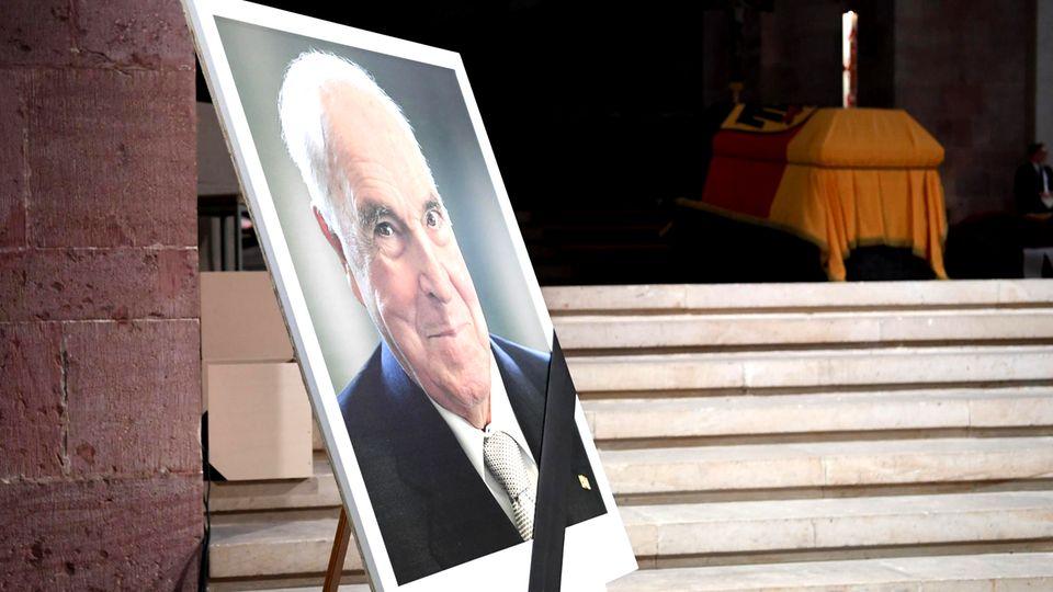 Von Straßburg bis Speyer: Der lange Abschied von Helmut Kohl
