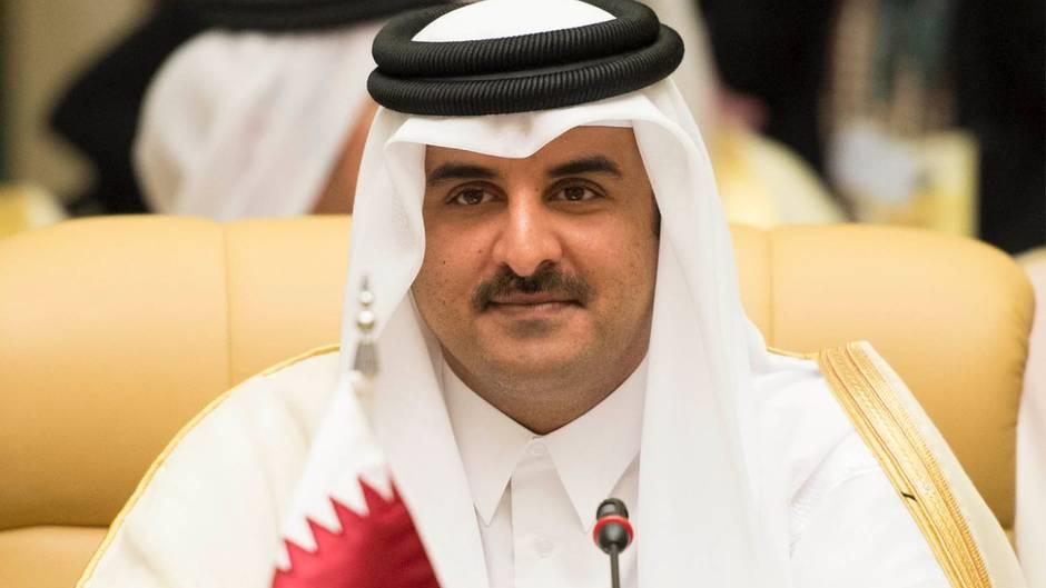 Scheich Tamim bin Hamad al-Thani, Emir von Katar