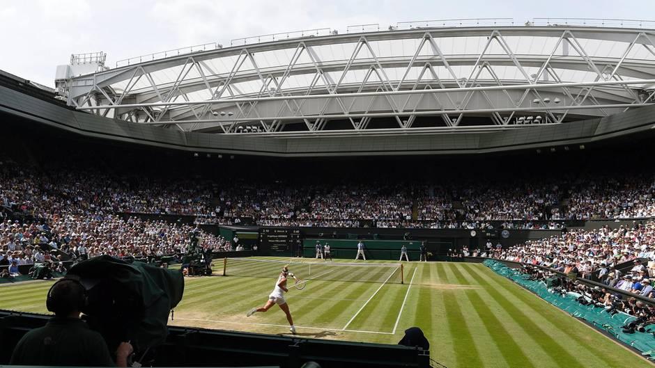 Wimbledon - Tennis - Turnier - Beginn - Auftakt
