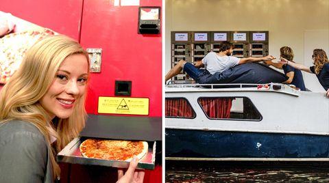 Pizza, Eier, Nudeln: Kurios bis alltäglich: Hier gibt's Essen aus dem Automaten