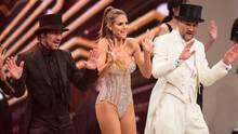 Thomas Hayo, Heidi Klum und Michael Michalsky beim Finale von Germany's Next Topmodel