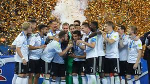 Das DFB-Team feierte in Russland seinen ersten Sieg beim Confed-Cup