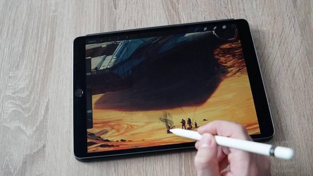 Der Apple Pencil reagiert nun noch genauer