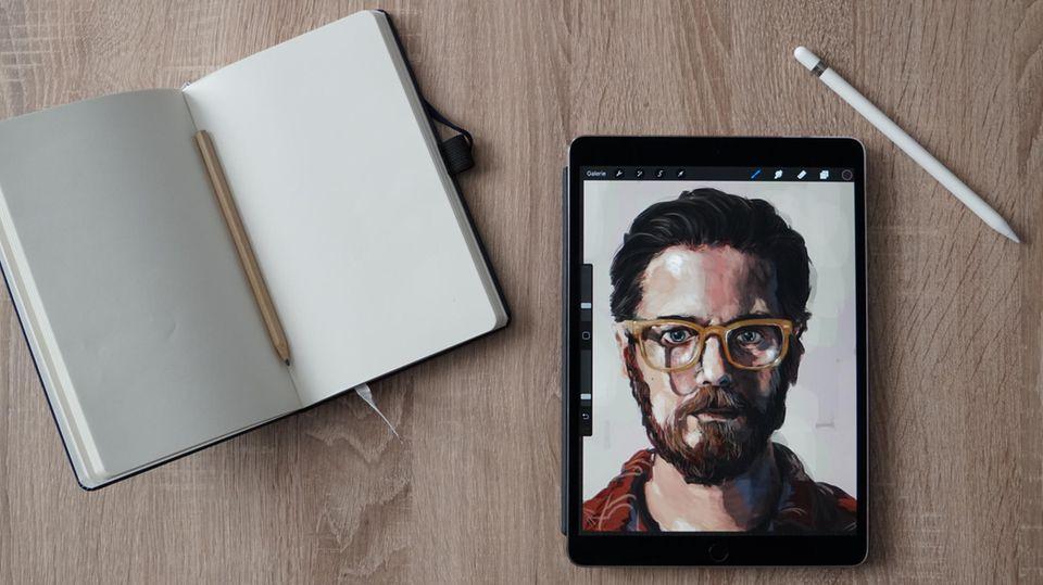 Das iPad Pro eignet sich vor allem für Kreative
