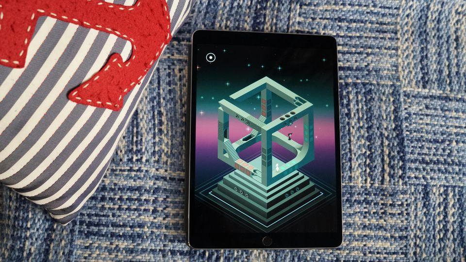 Games sehen auf dem iPad Pro fantastisch aus