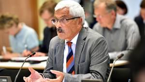 Bruno Jost, Sonderermittler im Fall Anis Amri, bei einer Sondersitzung des Innenausschusses der Berliner Abgeordnetenhauses