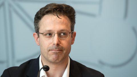 Kam bei seinem Auftritt in Düsseldorf ordentlich ins Schlingern: AfD-Politiker Marcus Pretzell