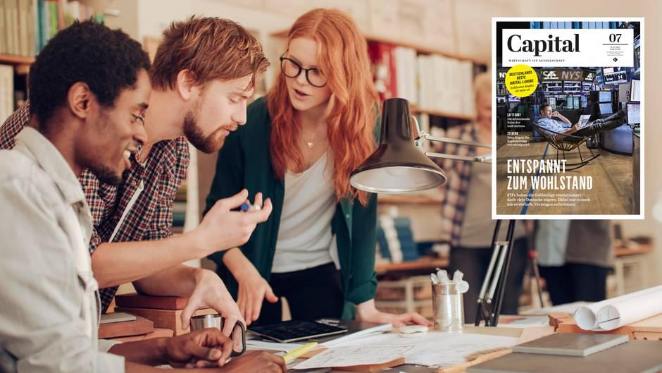 Welchen Nutzen bringen nach Berlin ausgelagerte Kreativeinheiten deutscher Konzerne? Eine Capital-Studie gibt Antworten.