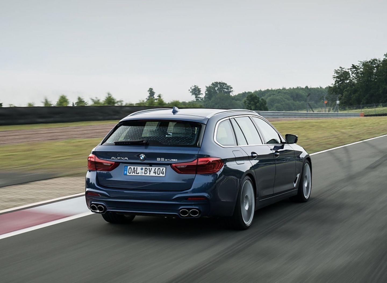 BMW Alpina B5 Touring - so werden ihn die meisten nur sehen - von hinten