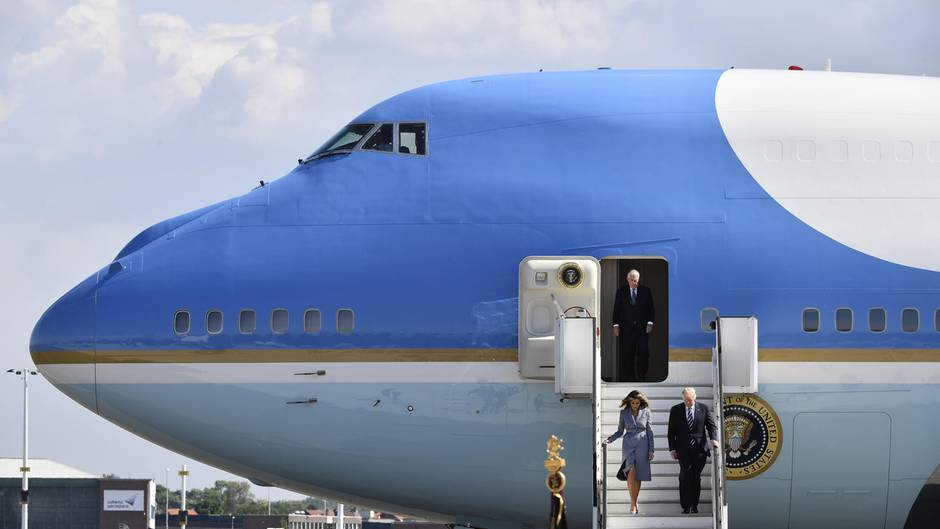 Air Force One im Porträt