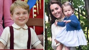 Prinz George, Prinzessin Charlotte