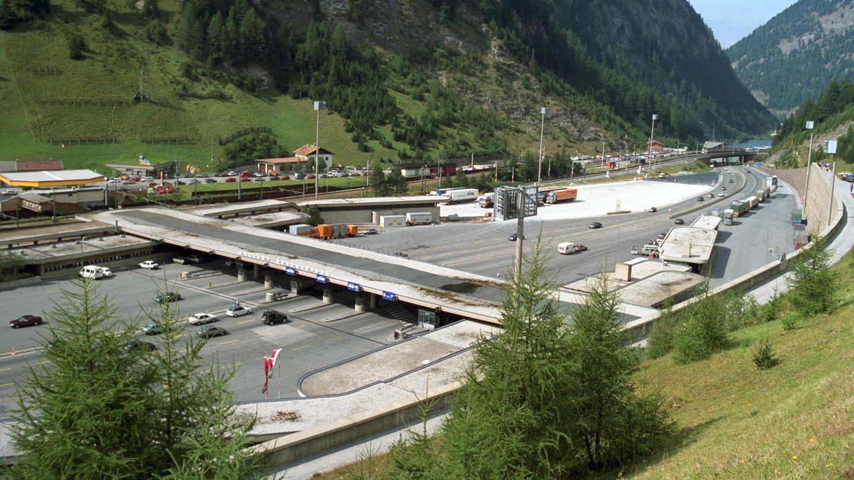 Die Zollstation am Brennerpass in Österreich