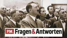 Adolf Hitler auf einer Kunst-Ausstellung