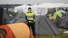 Bei der schwedischen Polzei gingen 23 Anzeigen wegen sexueller Belästigung beim Bråvalla-Festival ein.
