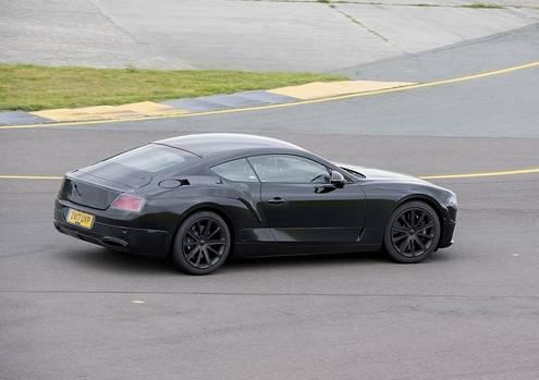 Bentley Continental GT 2018 - kürzere Überhänge, weniger Gewicht