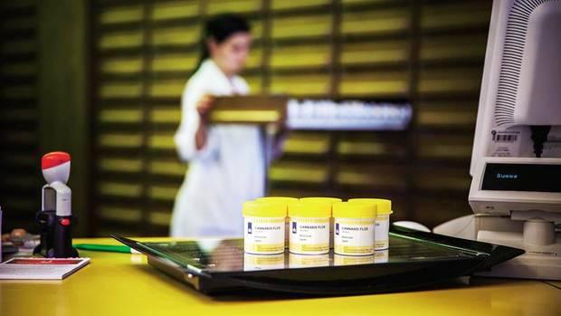 """Ärzte dürfen Cannabis bei """"schwerwiegenden Erkrankungen"""" verschreiben; Dosen mit Blüten gibt es auf Rezept in der Apotheke"""