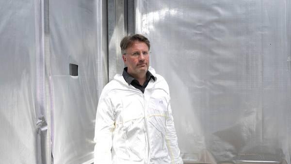 Vorbildlicher Züchter: In Wien pflanzt Bernhard Föger schon heute Hanf für den deutschen Markt