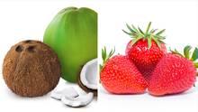 Links ist eine Frucht und rechts eine Nuss. Bitte was? Wir klären auf!