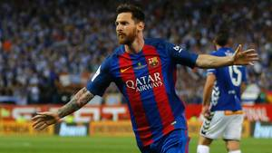 Seit seinem 13. Lebensjahr ist Lionel Messi beim FC Barcelona unter Vertrag