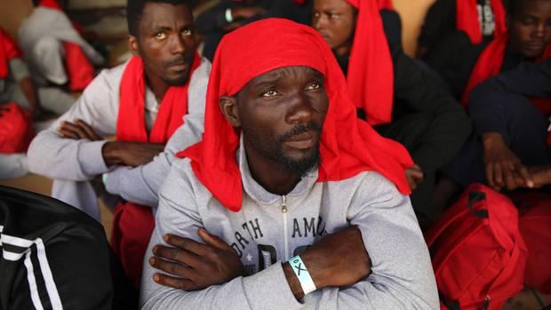 Ahmed, 30, fühlt sich schuldig am Tod seines Freundes Zibo, 25. Er war ihm aus Ghana gefolgt