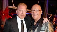 Der Brite John Caudwall (r.) lieh Boris Becker mehr als zwei Millionen Euro