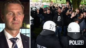 G20 Timo Zill dbate Polizei