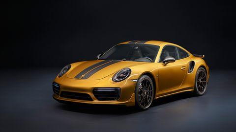 Der Porsche 911 Turbo S Exclusive Series leistet 446 kW/607 PS.