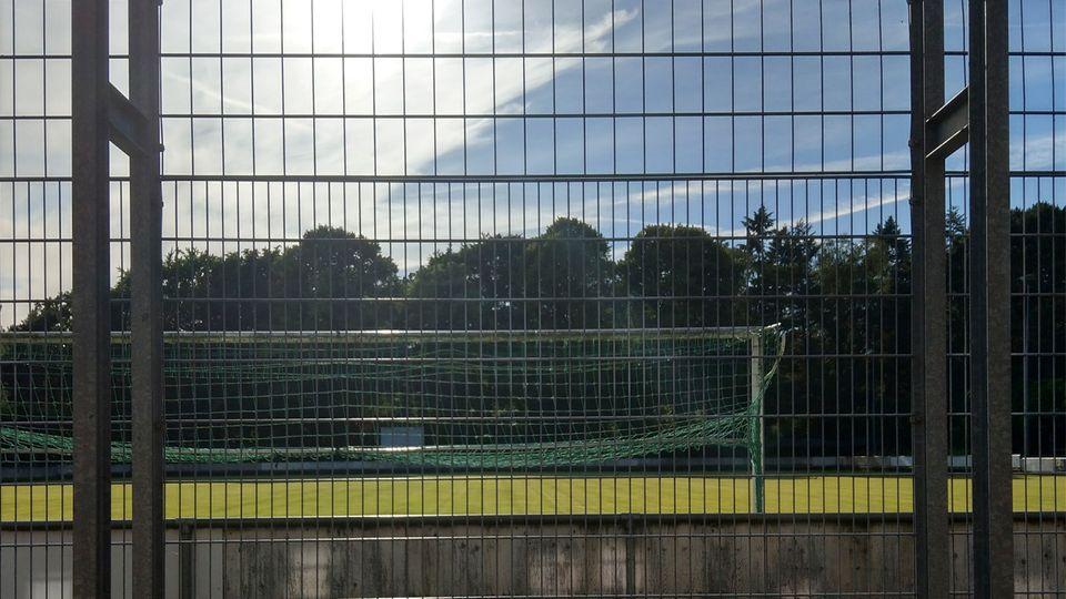 Ein Mit dem HTC U11 geschossenes Bild eines Fußballtores