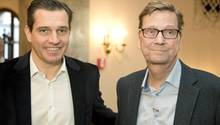 """Michael Mronz mit Guido Westerwelle: """"Unser gemeinsamer Kompass fürs Leben führt mich weiterhin."""""""