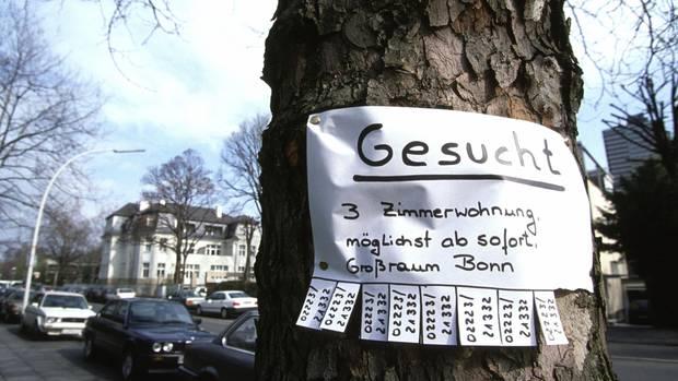 Bezahlbarer Wohnraum ist knapp in Deutschlands Städten