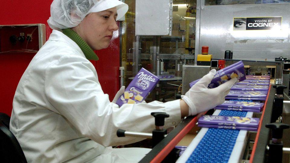 Hacker legen Milka-Fabrik lahm