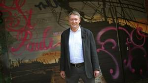 """Einige Hamburger Pastoren lassen G20-Demonstranten auf den Kirchhöfen zelten - wie auch St. Pauli-Pastor Sieghard Wilm: """"Die Menschen müssen ja irgendwo unterkommen"""""""