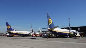 Billig-Airline Ryanair hat den Betrieb am Frankfurter Flughafen bereits in diesem Jahr aufgenommen