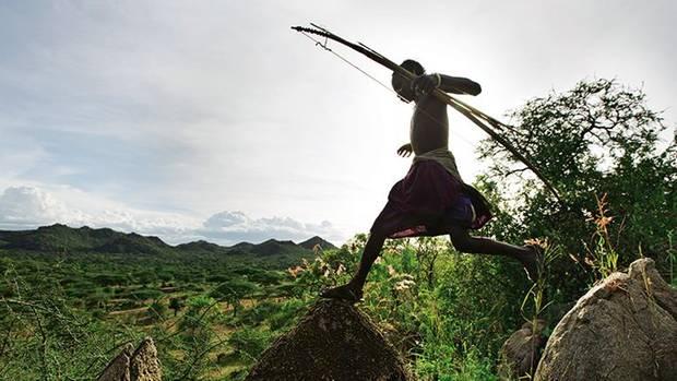 Als Jäger und Sammler leben die Hadza in Tansania wie unsere frühen Vorfahren
